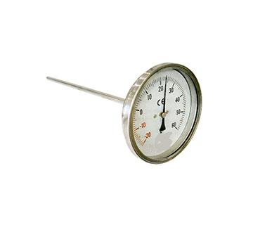 Medicao E Controle Medicao Temperatura Termometro Bimetalico Total Inox Horizontal Normape Se acopla fácilmente por la parte exterior del cristal del acuario. normape